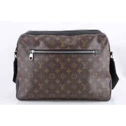 Louis Vuitton Brown Monogram Macassar Coated Canvas Torres Messenger Bag
