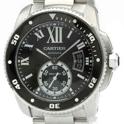 Polished CARTIER Calibre de Cartier Diver Automatic Mens Watch W7100057 BF511737