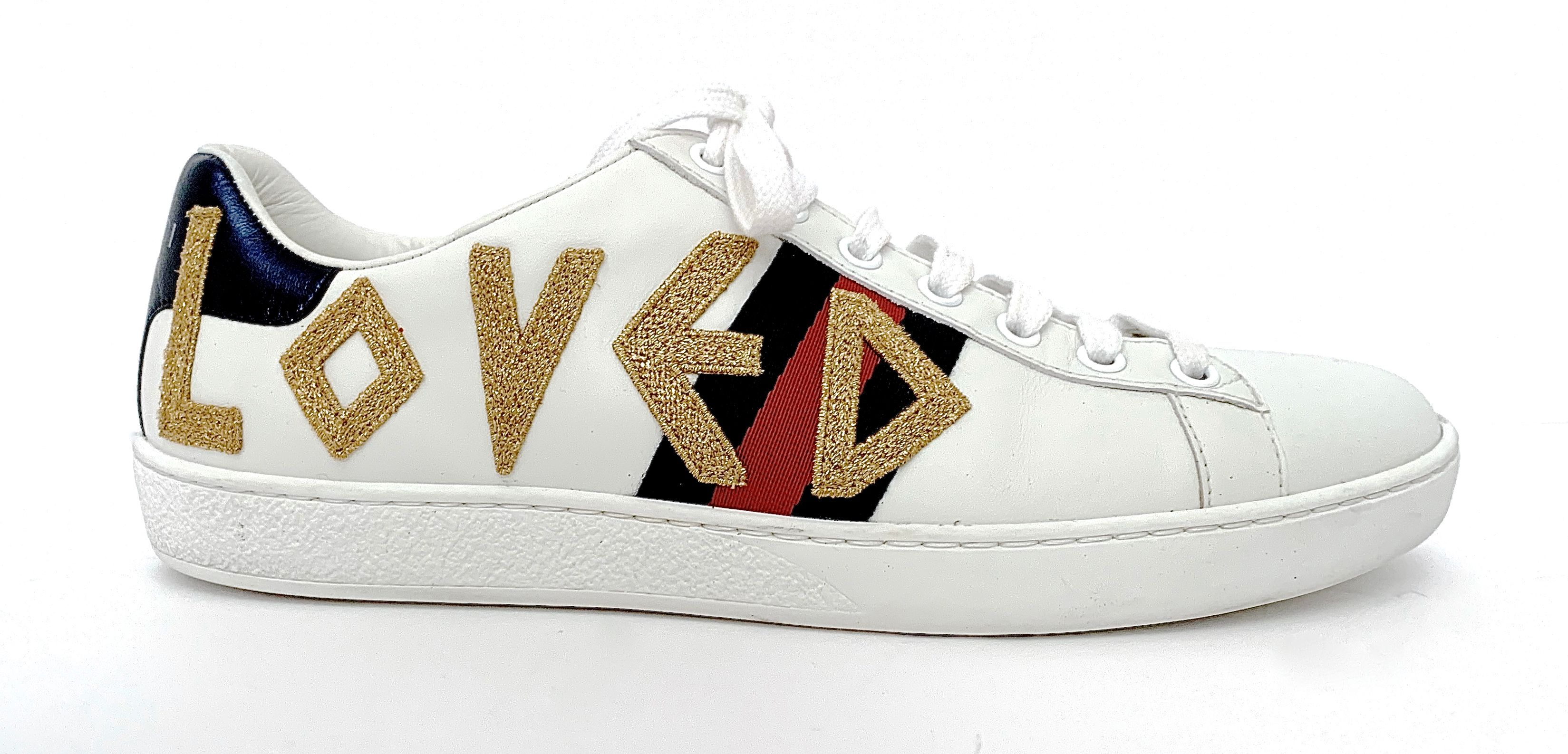 Women's Gucci Ace Embroidered \