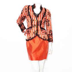Lacroix Stripe Silk Suit