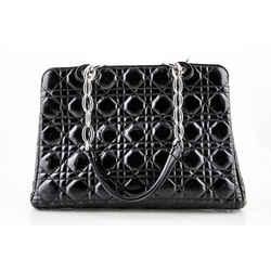 Christina Dior Soft Cannage Quilt Patent Shopper
