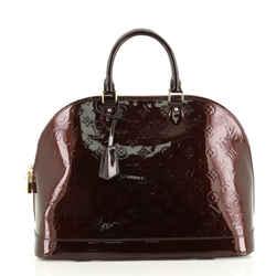 Alma Handbag Monogram Vernis GM
