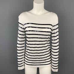 MICHAEL by MICHAEL KORS Size XXS White Rayon Pullover Sweater