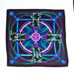 Hermes Scarf La Promenade du Matin Multicolor Silk
