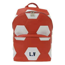 Auth Louis Vuitton Epi World Cup Apollo Backpack Red M52117 Leather Bag