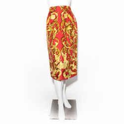 Hermes Silk Skirt