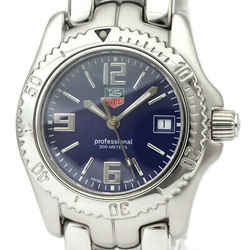 Polished TAG HEUER Link Stainless Steel Quartz Ladies Watch WT1313 BF531363