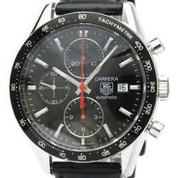 TAG HEUER Carrera Chronograph Steel Automatic Mens Watch CV2014 BF515787