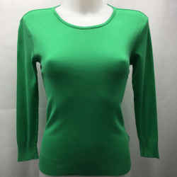 Ralph Lauren Green Basic Long Sleeve Medium