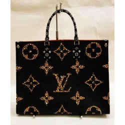 Louis Vuitton's Black, Light Brown & White Onthego tote
