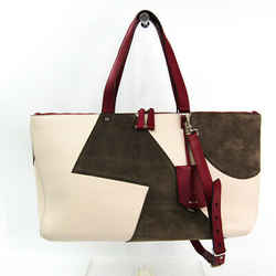 Bally Ballyssime 6190965 Women's Leather,suede Handbag,shoulder Bag Gra Bf505334