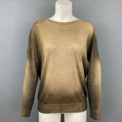 AVANT TOI Brown & Tan Ombre Cashmere / Silk Pullover