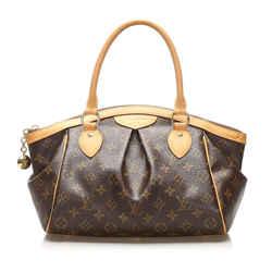 Brown Louis Vuitton Monogram Tivoli PM Bag