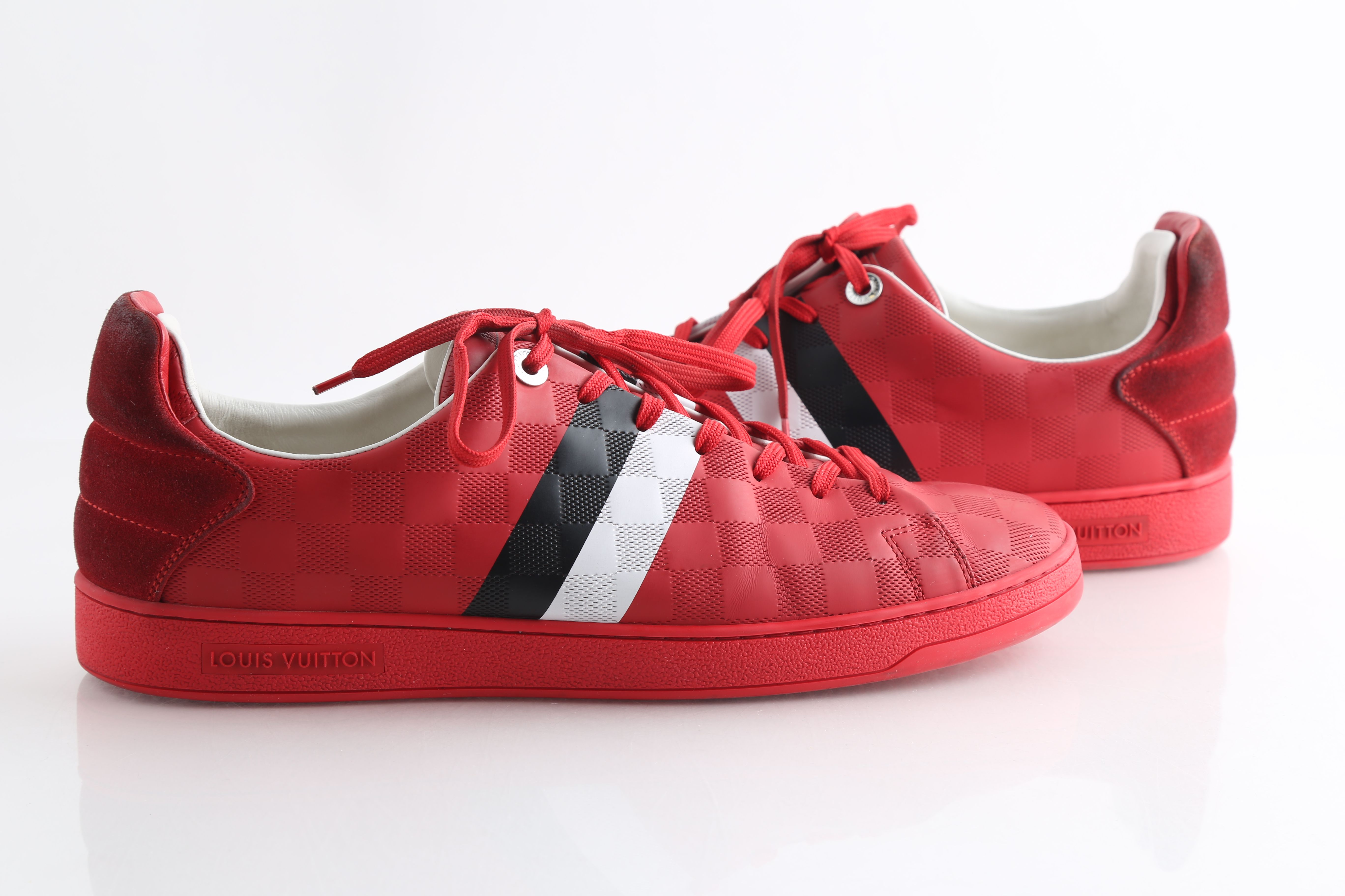 Louis Vuitton Red Frontrow Sneakers