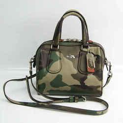Coach Mini Sally Satchel 33591 Women's Leather,PVC Handbag,Shoulder Bag BF522104
