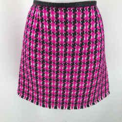Marc Jacobs Purple Boucle Mini Skirt 4
