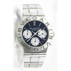 Bvlgari Diagono Chronograph Watch - Ref Ch35s