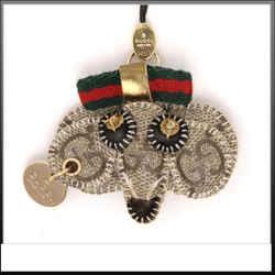 Gucci Supreme Gg Sherry Monogram Web Bag Or Mobile Charm Pendant 230400