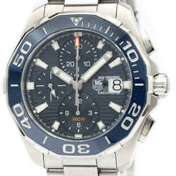 Polished TAG HEUER Aquaracer Caliber 16 Chronograph Mens Watch CAY211B BF516900