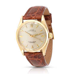 Rolex Oyster Perpetual 6548 Unisex Watch in 14kt White Gold/Yellow Gold