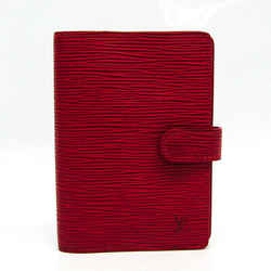 Louis Vuitton Epi A6 Planner Cover Castilian Red Agenda PM R20057 BF527016