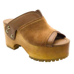 See by Chloe Amber Suede Clogs