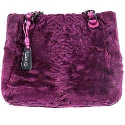 Chanel Astrakahan Purple Tote