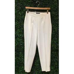 Piazza Sempione Size 44/8 Off-White Pants