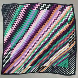 MISSONI Multi-Color Zig-Zag Scarf