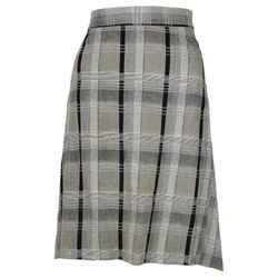VIVIENNE WESTWOOD Anglomania Vintage Grey and Black Plaid Skirt