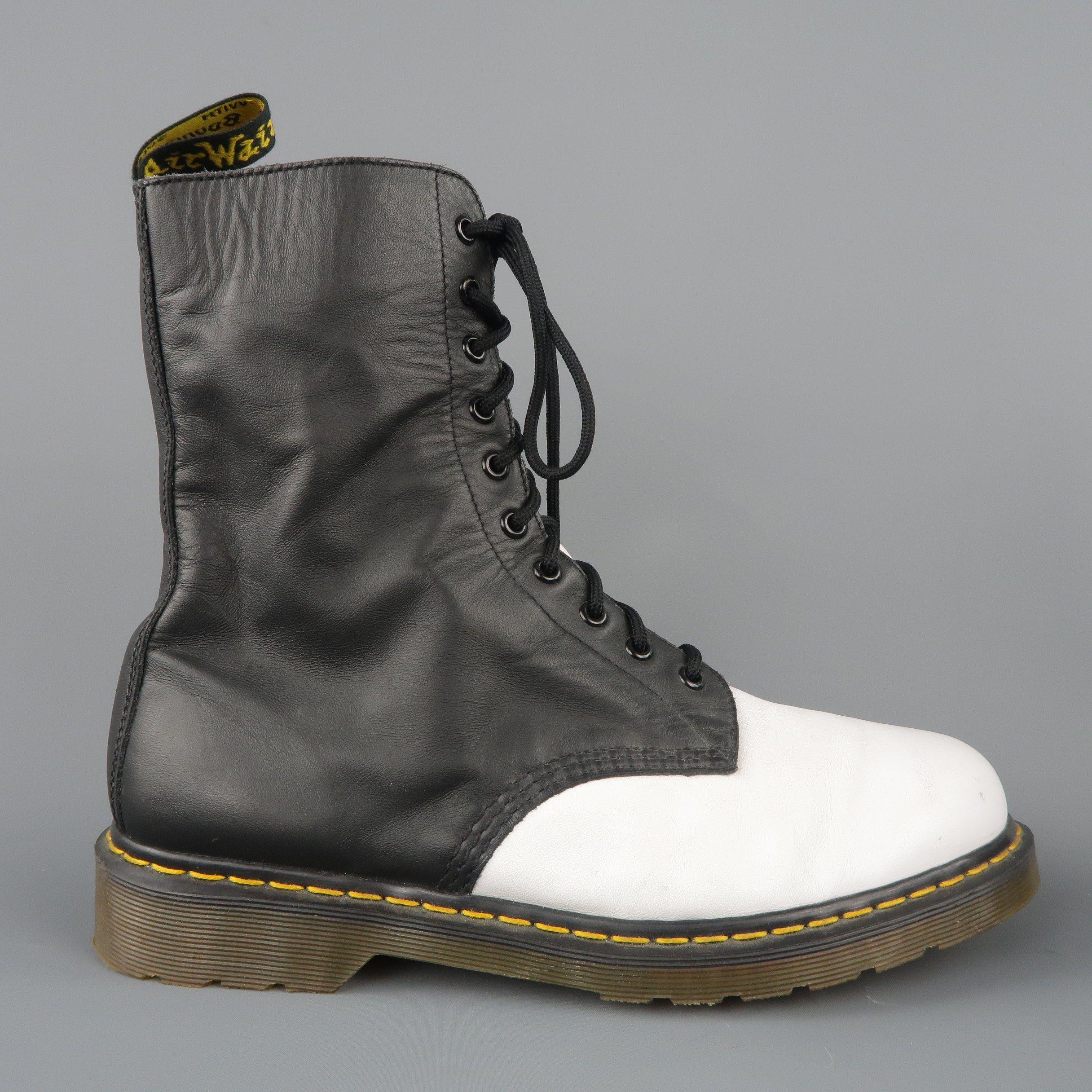 yohji yamamoto twist lace up boots