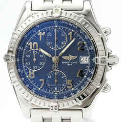 Polished BREITLING Chronomat Steel Automatic Mens Watch A13050.1 BF516581