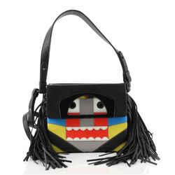 Passage Convertible Messenger Bag Limited Edition Tribalou Leather Mini