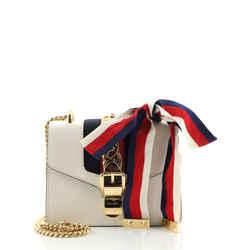 Sylvie Chain Shoulder Bag Leather Mini